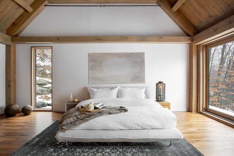 Bedroom Design Ideas - This Cozy Barn-Inspired Bedroom With .