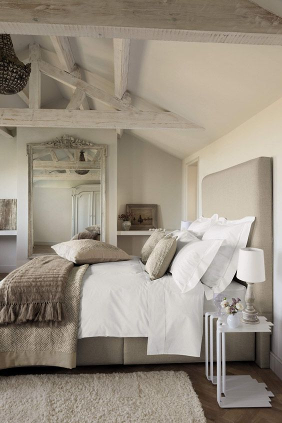 Rooms We Love: Bedroom Design Ideas: Go Neutral | Kathy Kuo Blog .