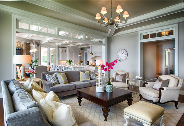 Elegant Family Home with Neutral Interiors - Home Bunch Interior .