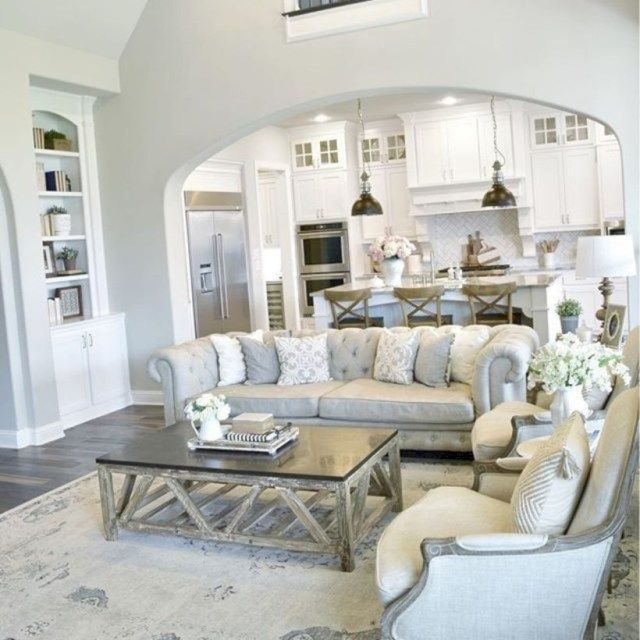 48 Adorable and Cozy Neutral Living Room Design Ideas | NEW .