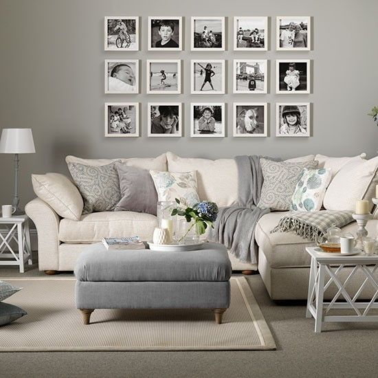 Neutral living room ideas for a cool, calm and collected scheme .