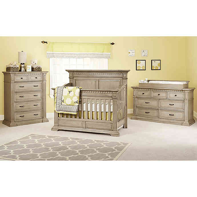 Kingsley Venetian Nursery Furniture Collection in Driftwood .