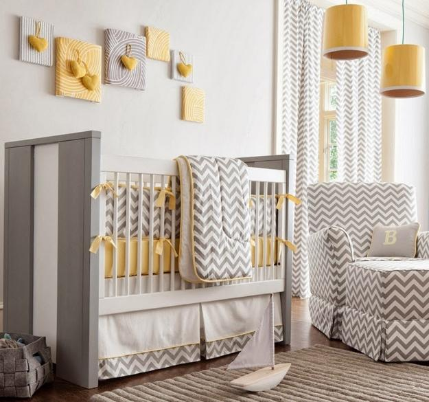 20 Baby Nursery Decorating Ideas and Furniture Placement Ti