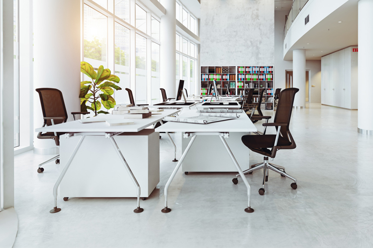 9 office design trends to create a stylish and happy workplace .