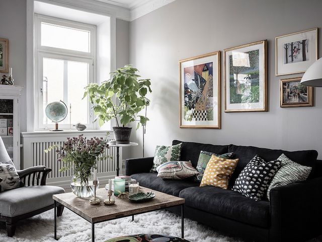 Old Meets New in a Charming Swedish Apartment (my scandinavian .