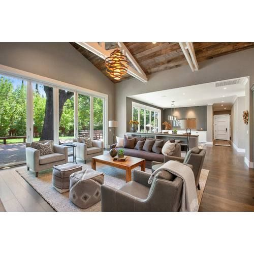 51+ Rustic Farmhouse Living Room Decor Ideas | Family room design .