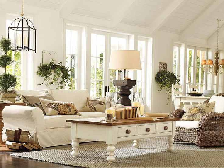 45 Comfy Farmhouse Living Room Designs To Ste
