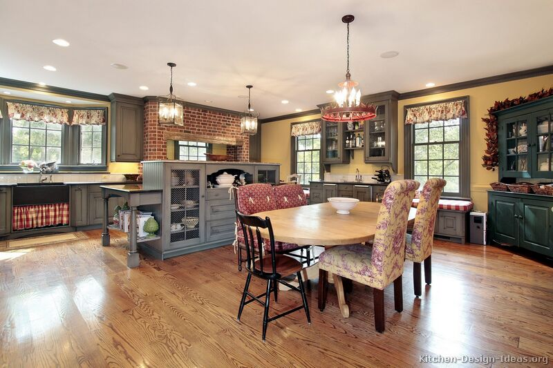 Country Kitchen Design - Pictures and Decorating Ide