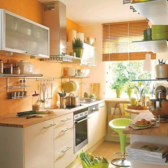 Orange Kitchen Colors, 20 Modern Kitchen Design and Decorating .