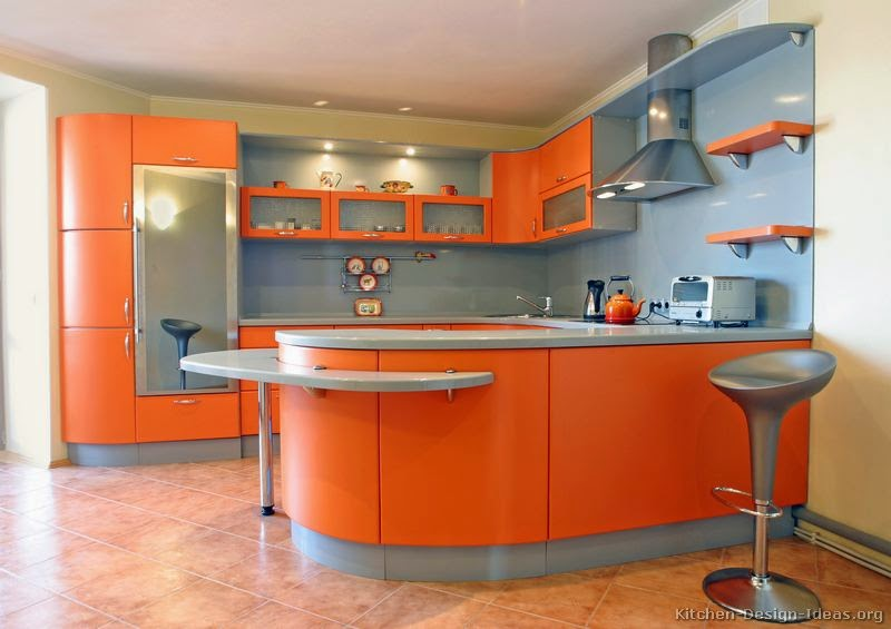 Amazing Orange Kitchens - Interior Design Ideas | Best Interior .