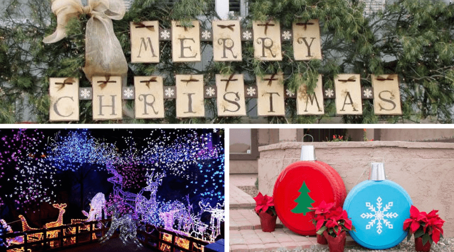 76 of the Best Outdoor Christmas Decoration Ide