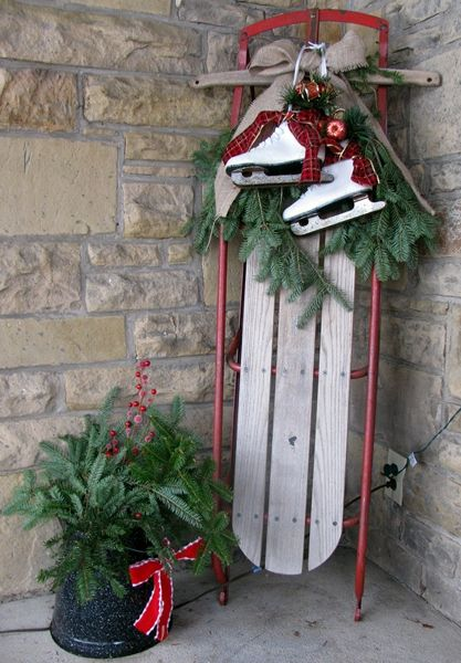Front Porch Christmas Decorating Ideas | am still working away on .