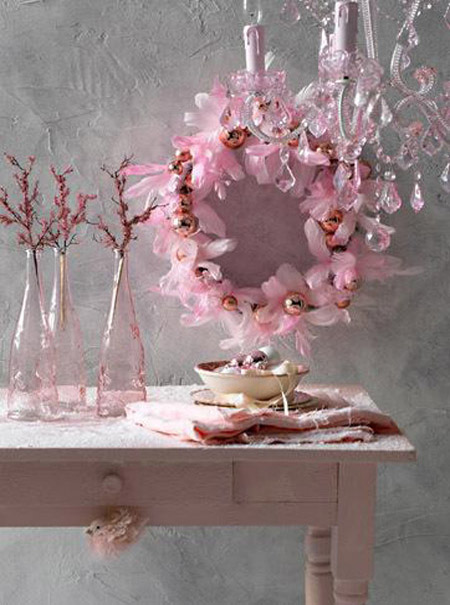 Pink Christmas Decorating Ideas – All About Christm