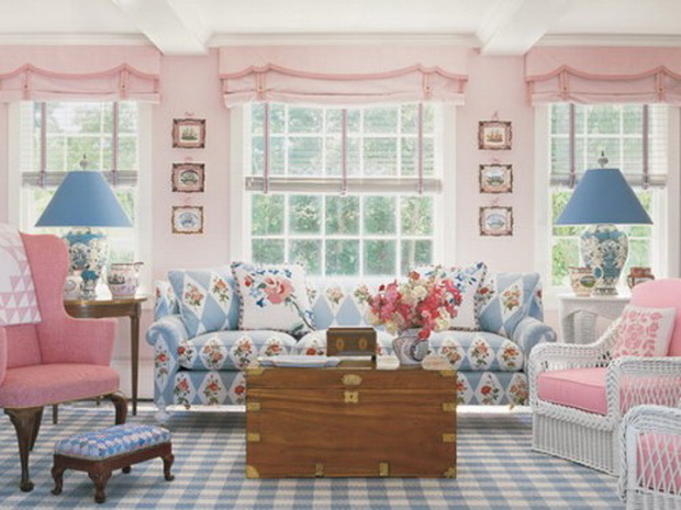 21 Amazing Pink Home Decorating Ide