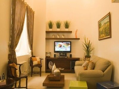 simple filipino living room designs - Google Sear
