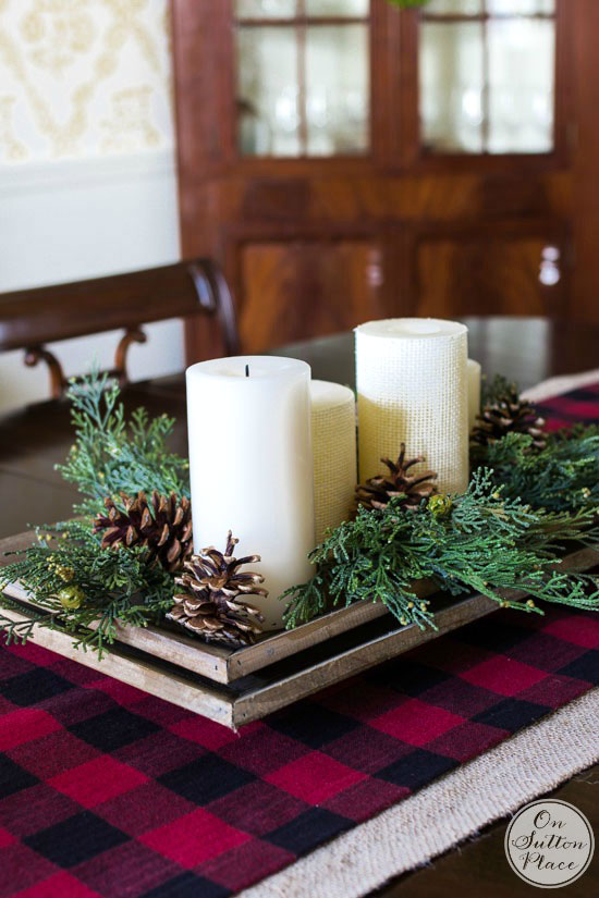 Plaid Christmas Decor Ideas For The Holidays - House of Hawthorn