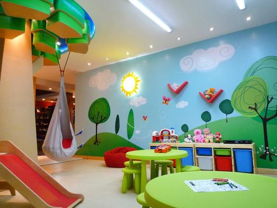 Playing Rooms For Children