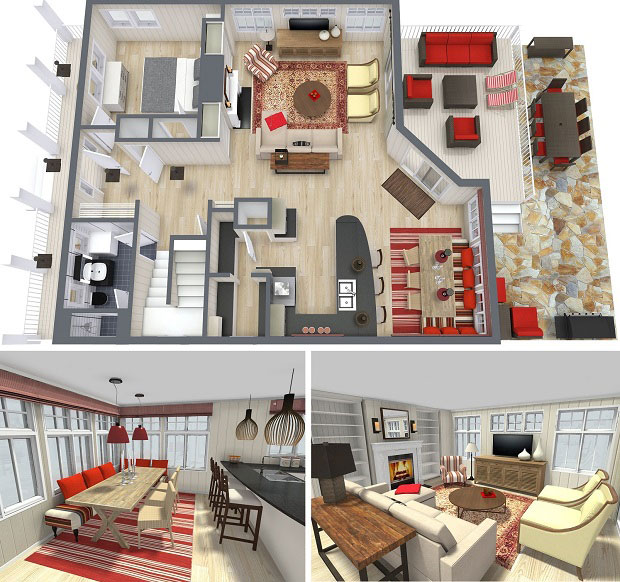 RoomSketcher Blog | Four Ways To Better Interior Design Installatio