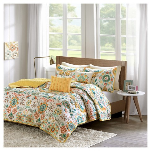Eva Paisley Quilted Coverlet Set : Targ
