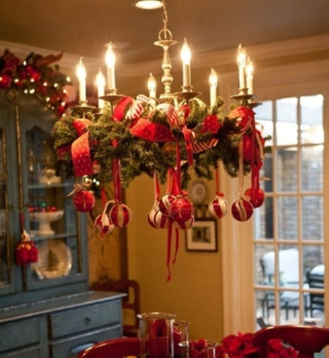 42 Amazing Red And Gold Christmas Décor Ide