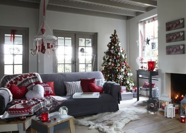55 Dreamy Christmas Living Room Décor Ideas | Christmas .