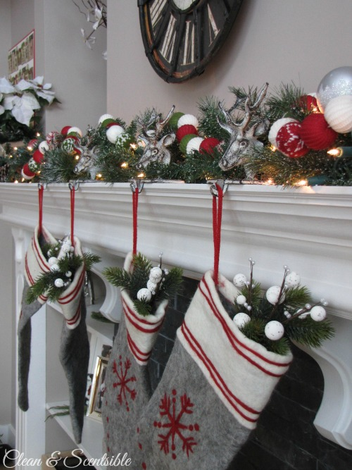 17 Red And Grey Combinations For Making Ideal Christmas Home Décor .
