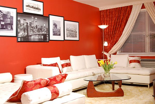 Decorating with Red: Photos & Inspiration for a Beautiful Red Home .