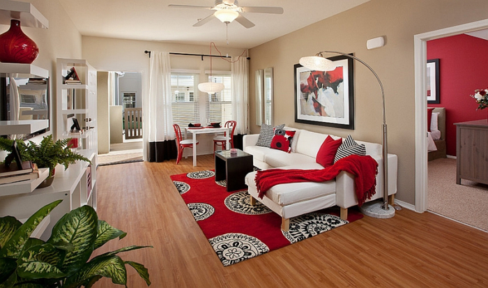 Modern Home Decor Ideas for Your Living Room | Fabrics and Rugs .