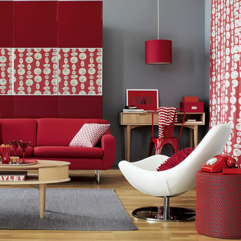 Fill your home with red | The Man Ca