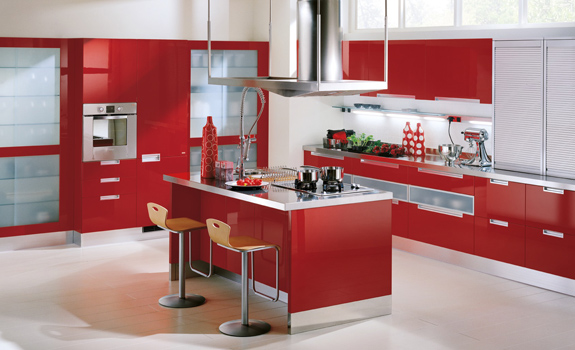 Red Kitchen Designs – Adorable Ho