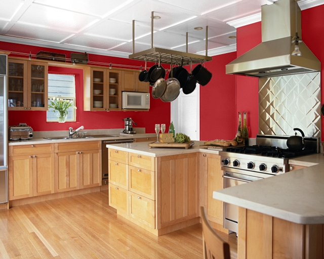 Making Your Home Sing: Red Paint Colors for a Kitch