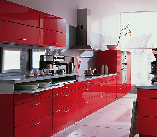 contemporary red kitchen cabinets. modern red kitchen cabinets .