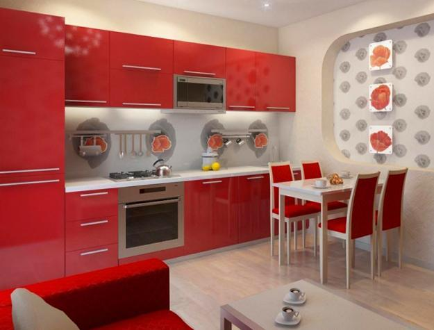 25 Stunning Red Kitchen Design and Decorating Ide