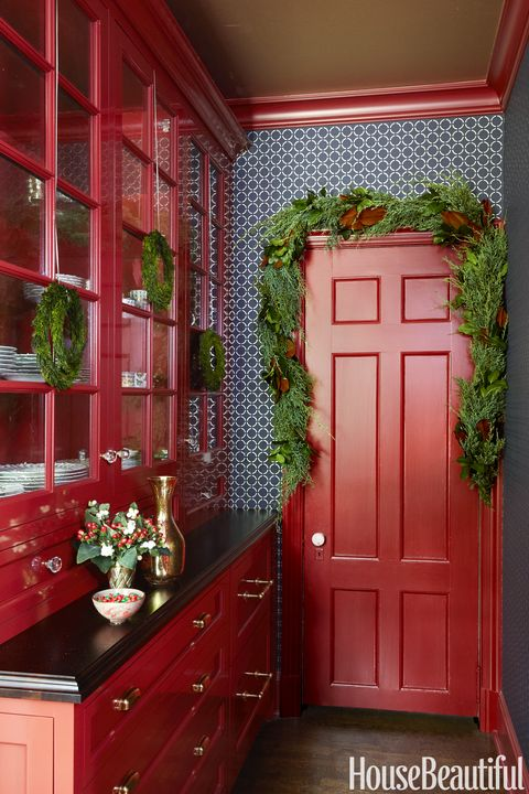 Alluring Red Kitchen Ideas On 14 Decor Decorating A | Kitchen .
