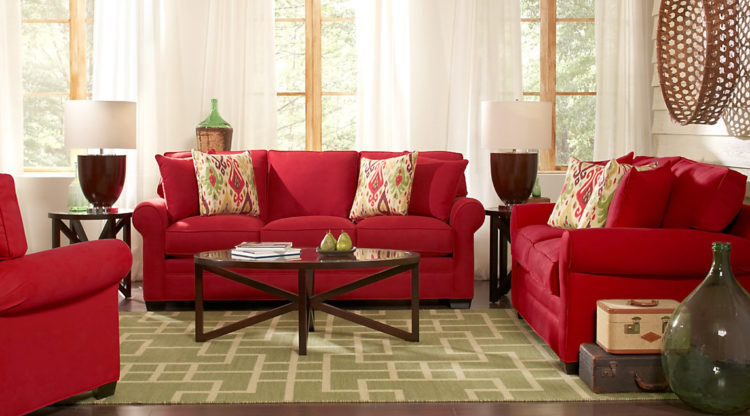 20 Beautiful Red Living Room Design Ideas to Consid