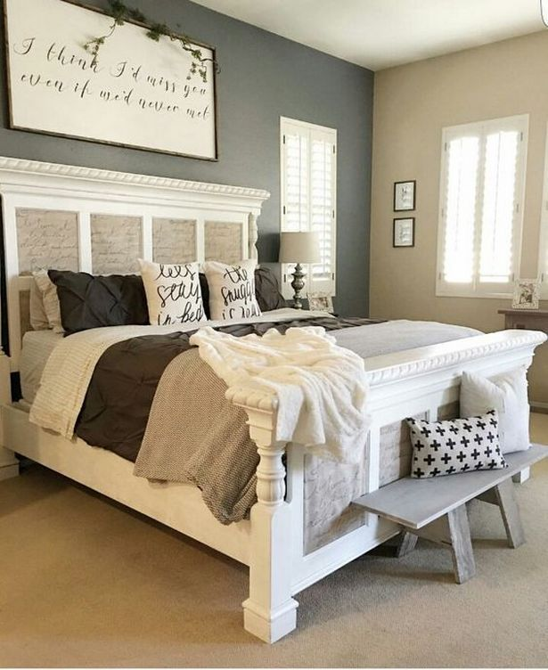 Small Master Bedroom Ideas for Couples Decor_47 (With images .