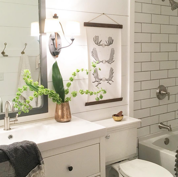 Our Spur of the Moment Budget Bathroom Renovati