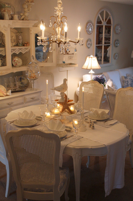 romantic home - Shabby-Chic Style - Dining Room - San Francisco .