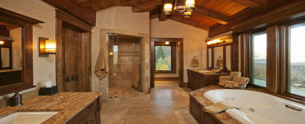 17 Rustic Bathroom Ide