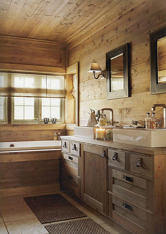 20 Rustic Bathroom Designs 11 - Craft Academy - Diycraftsacademy.c