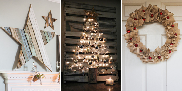 20 Amazing DIY Rustic Christmas Decor Ide