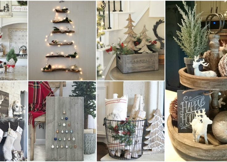 Helpful Rustic Christmas Decor Ideas That Look So Co
