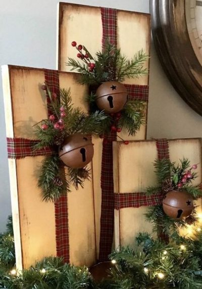15+ Festive Rustic Christmas Decor Ideas - architeworks.c
