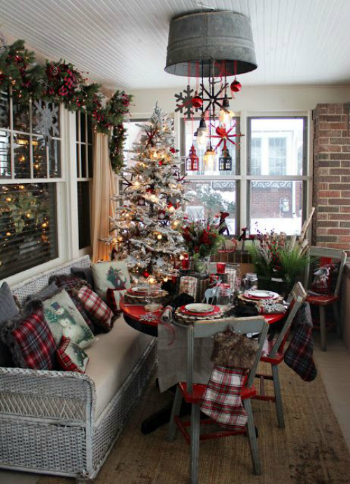 rustic-christmas-decorating-ideas-01 - Christmas Celebration - All .