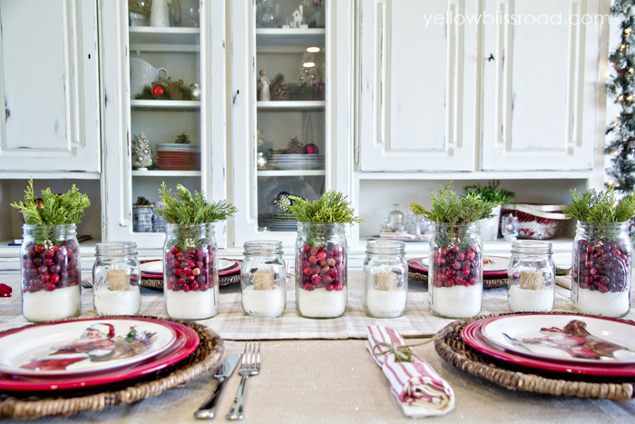 Rustic Christmas Table Setting That You Have To Check O