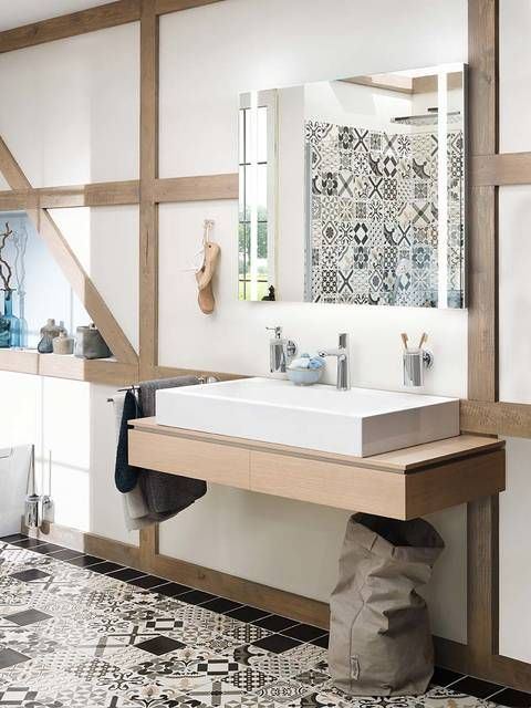 Highlight in your scandinavian bathroom: The modern Talis Select .
