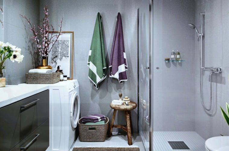 Inspirational Scandinavian Bathroom Design Ideas - The .