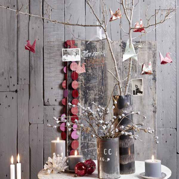 scandinavian christmas decorating ide
