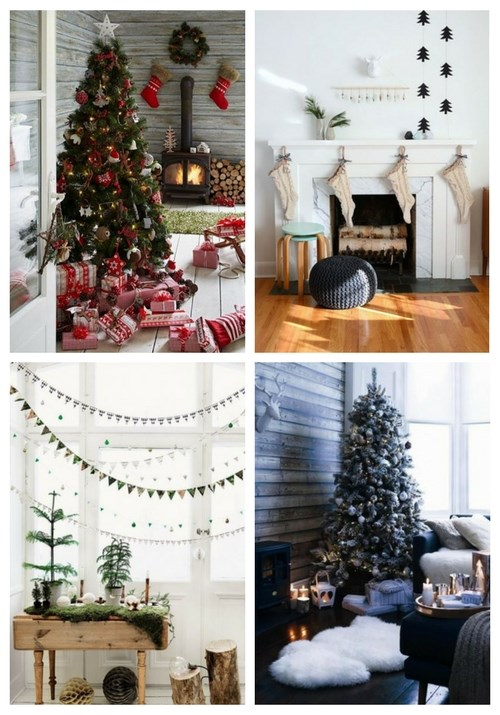Scandinavian Christmas Home Decor Ideas | ComfyDwelling.c
