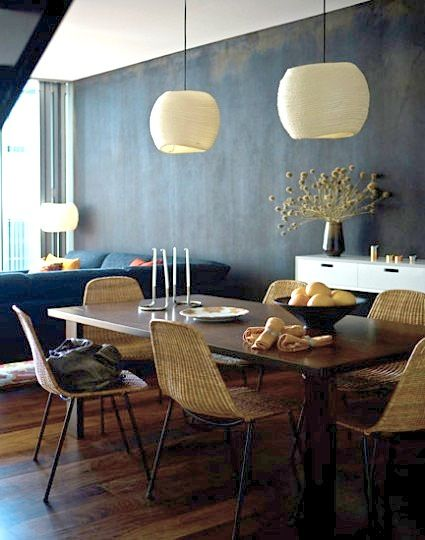 Maree Homer {eclectic vintage scandinavian modern dining rom with .